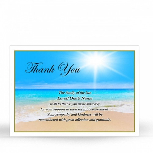 SCE18 Memorial Thank You Card